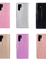 cheap -Case For Huawei Huawei P20 / Huawei P20 Pro / Huawei P20 lite Card Holder / Shockproof Full Body Cases Solid Colored PU Leather