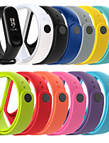 cheap -Watch Band for Mi Band 3 / Xiaomi Mi Band 4 Xiaomi Sport Band Silicone Wrist Strap