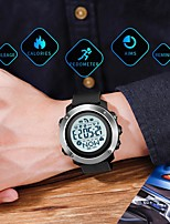 cheap -SKMEI Smartwatch Digital Modern Style Sporty Silicone 30 m Water Resistant / Waterproof Smart Casual Watch Analog Outdoor Fashion - Black Green