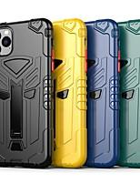 abordables -étui pour apple scene map iphone 11 x xs xr xs max 8 couleur unie peint givré tpu texture tout compris étui de téléphone tt
