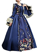 cheap -Dance Costumes Dresses Women's Performance Terylene Lace / Pattern / Print / Ruching Long Sleeve Dress