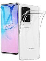 cheap -Case For Samsung Galaxy S20/ S20 Plus / S20 Ultra Transparent Soft TPU Phone Case for Samsung Galaxy A91 / A81 / A71 / A51 / A70S / A50S / A40S/ A30S/ A20S/ A10S/A70 / A60 /A50 / A40 /A30 /A20 /A10