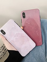 cheap -Case For Apple iPhone 11 / iPhone 11 Pro / iPhone 11 Pro Max Shockproof / Ultra-thin Back Cover Solid Colored / Marble PC