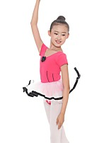 cheap -Kids' Dancewear Leotards Girls' Training Cotton / Spandex Gore Short Sleeve Natural Leotard / Onesie