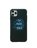 cheap -Case for Apple scene map iPhone 11 X XS XR XS Max 8 Simple text pattern painted frosted TPU material all-inclusive mobile phone case