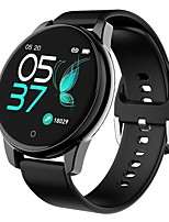 cheap -Smartwatch Digital Modern Style Sporty Silicone 30 m Water Resistant / Waterproof Heart Rate Monitor Bluetooth Digital Casual Outdoor - Black Gold Silver