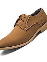 cheap -Men's Formal Shoes Leather / Nappa Leather Spring & Summer / Fall & Winter Business / Casual Oxfords Breathable Black / Brown