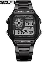 cheap -SYNOKE Digital Watch Digital Sporty Stylish 30 m Water Resistant / Waterproof Calendar / date / day LCD Digital Outdoor Fashion - Black Rose Gold Gold