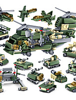 cheap -Building Blocks 100-200 pcs Military compatible Legoing Simulation Tank Plane Climbing Car All Toy Gift / Kid's