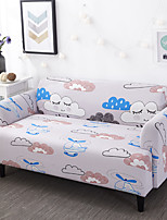 cheap -Printed Sofa Cover Stretch Couch Cover Sofa Slipcovers for Couches and Loveseats with 1 Free Pillow Case