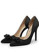 cheap -Women's Heels Stiletto Heel Pointed Toe PU Winter Black / Red / Blue