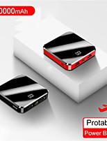 cheap -20000mAh Portable Mini Power Bank Mirror Screen LED Display Powerbank External Battery Pack Poverbank For Smart Mobile Phone