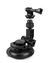 abordables -Grande Fixation Ventouse Caméra Sportive Type de cupula Amortissement Solidité Pour Caméra d'action Multisport Moto Extérieur résine ABS