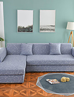cheap -Constellation Print Dustproof All-powerful Slipcovers Stretch L Shape Sofa Cover Super Soft Fabric Couch Cover with One Free Pillow Case