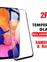 cheap -SAMSUNGScreen ProtectorSamsung Galaxy A20(2019) High Definition (HD) Front Screen Protector 2 pcs Tempered Glass