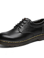 cheap -Men's Comfort Shoes PU Fall & Winter Oxfords Black / Brown