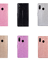 cheap -Case For Samsung Galaxy S9 / S9 Plus / S8 Plus Card Holder / Shockproof Full Body Cases Solid Colored PU Leather