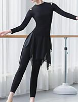 cheap -Latin Dance Bottoms Women's Training / Performance Modal Split Joint Pants