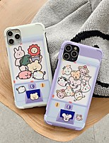 cheap -Case For Apple iPhone 11 / iPhone 11 Pro / iPhone 11 Pro Max Shockproof / Ultra-thin Back Cover Animal / Cartoon PC