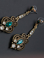 cheap -Dance Accessories Women's Performance Metal Beading Earrings