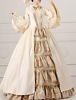 cheap -Dance Costumes Dresses Women's Performance Terylene Lace Long Sleeve Dress / Headwear