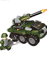 cheap -Building Blocks 674 pcs Military compatible Legoing Simulation Military Vehicle All Toy Gift / Kid's