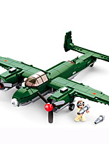 cheap -Building Blocks 311 pcs Military compatible Legoing Simulation Plane All Toy Gift / Kid's