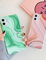 cheap -Case For Apple iPhone 11 / iPhone 11 Pro / iPhone 11 Pro Max Shockproof / Plating / Ultra-thin Back Cover Marble PC