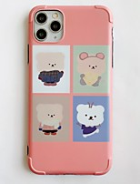 cheap -Case For Apple iPhone 11 / iPhone XR / iPhone XS Max Shockproof / Ultra-thin Back Cover Animal / Cartoon PC