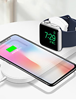 cheap -2 in 1 Fold Wireless Charger For iPhone X XS Max XR Samsung S8 S9 10W Fast Wireless Charging Pad for Apple Watch  3 2 1 Charger