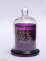 cheap -Everyday Scented Blooming Lilac Garden Single-Wick Jar Candle