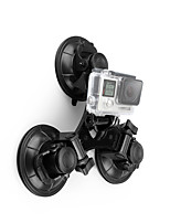 abordables -Grande Fixation Ventouse Caméra Sportive Amortissement Solidité Ventouses Pour Caméra d'action Hors piste Sports mécaniques Extérieur ABS + PC