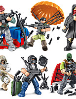 cheap -Building Blocks 35-49 pcs Warrior Military compatible Legoing Simulation All Toy Gift / Kid's
