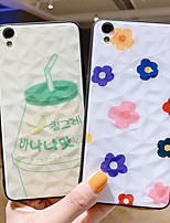 cheap -Case For OPPO OPPO Reno2 / OPPO Reno2 Z / OPPO R11 Plus Shockproof Back Cover Food / Flower PC