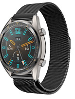 cheap -Huawei watch Milanese Strap for Watch GT 46mm / GT2 46mm / GT active / watch GT / honor magic /watch 2 pro Sport Band High-end Fashion comfortable Health Milanese Loop Stainless Steel Wrist Strap 22MM
