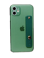 cheap -Case for Apple scene map iPhone 11 X XS XR XS Max 8 Pure color frosted TPU material all-inclusive stand phone case