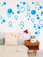 cheap -Color Circle Decorative Wall Stickers - Plane Wall Stickers Landscape / Shapes Bedroom / Bathroom