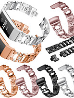 cheap -Watch Band For Fitbit Charge 3 Fitbit Sport Band / Modern Buckle / Jewelry Design Stainless Steel Wrist Strap For Fitbit Charge 3