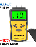 cheap -HP-883A Wood Moisture Meter Digital Humidity Tester Time Damp Detector Probe Measuring meter hygrometer higrometro
