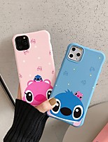 cheap -Case For Apple iPhone 11 / iPhone 11 Pro / iPhone 11 Pro Max Shockproof / Ultra-thin Back Cover Solid Colored / Animal / Cartoon PC