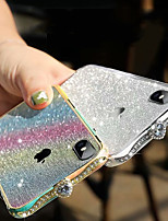 cheap -iPhone 11Pro Max Diamond Metal Phone Case XS Max Luxury Glitter Pink Gradient Rhinestone 6/7 / 8Plus Metal Protective Protective Case