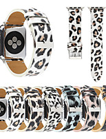cheap -Printed Leopard Strap Suitable For Apple Watch Series 5/4/3/2/1 Colorful Belt Strap Leopard Print Bands For iWatch 42mm 38mm 40mm 44mm Men And Women Wristband Accessories