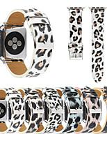 abordables -bracelet imprimé léopard adapté aux séries de montres Apple 5/4/3/2/1 sangle de ceinture colorée bandes imprimées léopard pour iwatch 42 mm 38 mm 40 mm 44 mm accessoires de bracelet pour hommes et