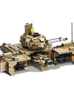 cheap -Building Blocks 1435 pcs Military compatible Legoing Simulation Tank All Toy Gift