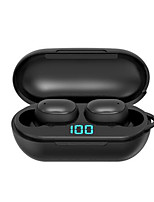 cheap -H6 Wireless Earphone Bluetooth V5.0 Sports Wireless TWS Headphone LED Display Waterproof Stereo Earbuds With Microphone Headset