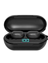 abordables -H6 écouteurs sans fil Bluetooth v5.0 sport sans fil tws casque led affichage étanche écouteurs stéréo avec microphone casque