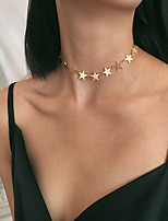 cheap -Women's Choker Necklace Necklace Copper Gold Silver 35+10 cm Necklace Jewelry For Gift Daily Street Holiday