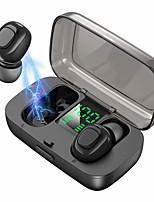 abordables -LITBest XG21 Casque TWS True Wireless Sans Fil EARBUD Bluetooth 5.0 Suppression du Bruit Stereo Avec boîte de recharge