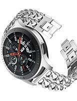 cheap -Watch Band for Samsung Galaxy Watch 46mm / Huawei Watch GT2 46mm Samsung Galaxy Jewelry Design Stainless Steel Wrist Strap