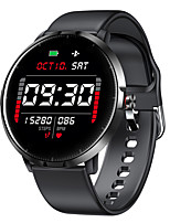 cheap -Smartwatch Digital Modern Style Sporty Silicone 30 m Water Resistant / Waterproof Heart Rate Monitor Bluetooth Digital Casual Outdoor - Black Pink Gray